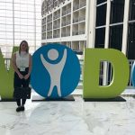Courtney Smith attends the World Orphan Drug Congress